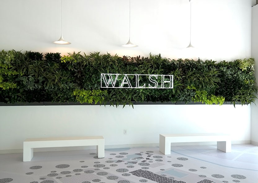 Walsh Development Greenwall