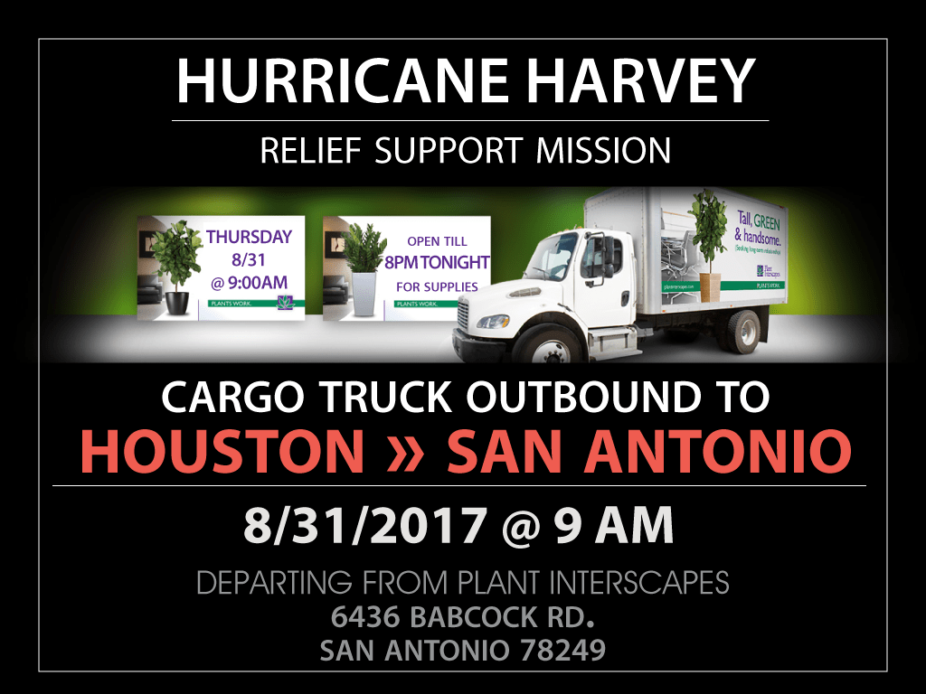 Hurrican Harvey Support Mission