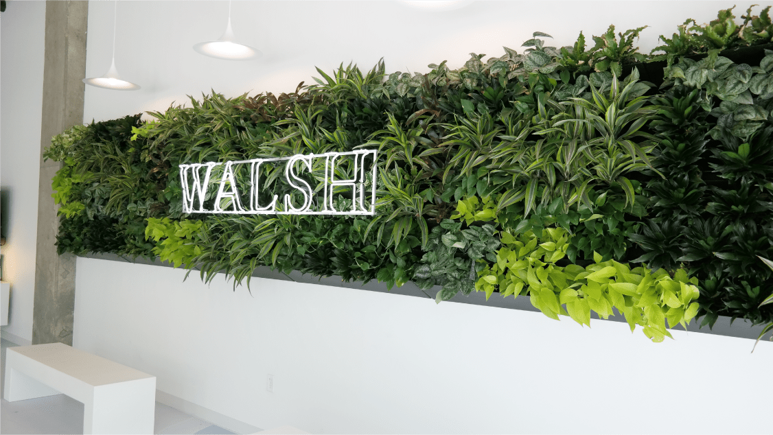 Walsh Development Fort Worth Greenwall