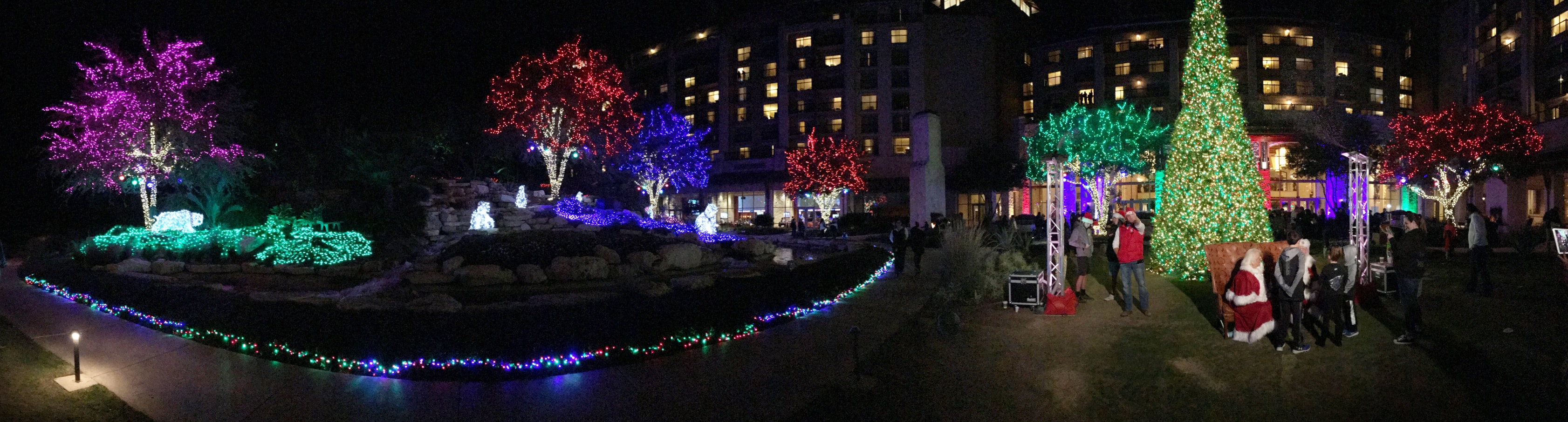JW Marriott San Antonio Hill Country Christmas Holiday Experience