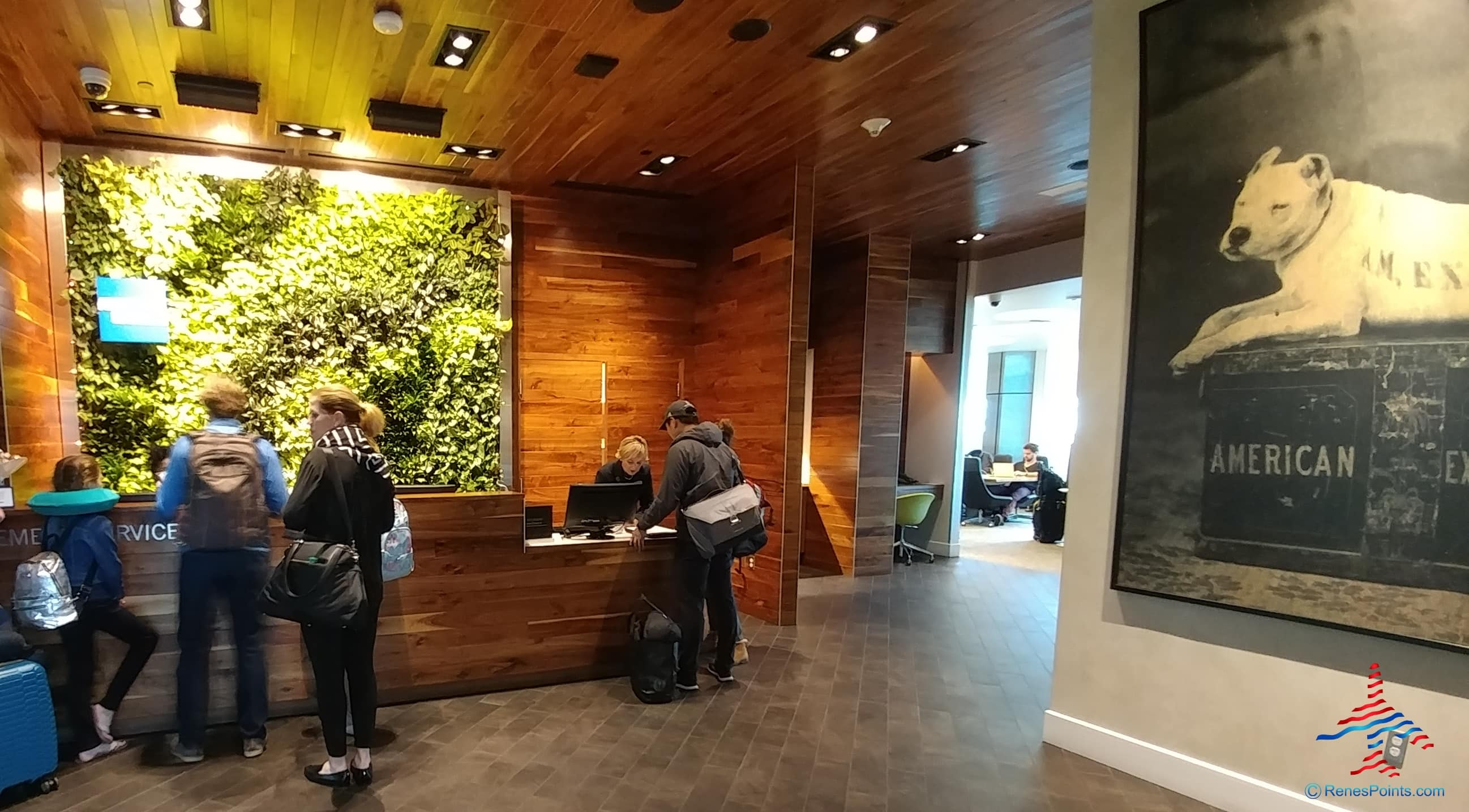American Express Centurion Lounge at Dallas/Ft, Worth International Airport
