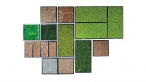 BioMontage Acoustic Moss Panels