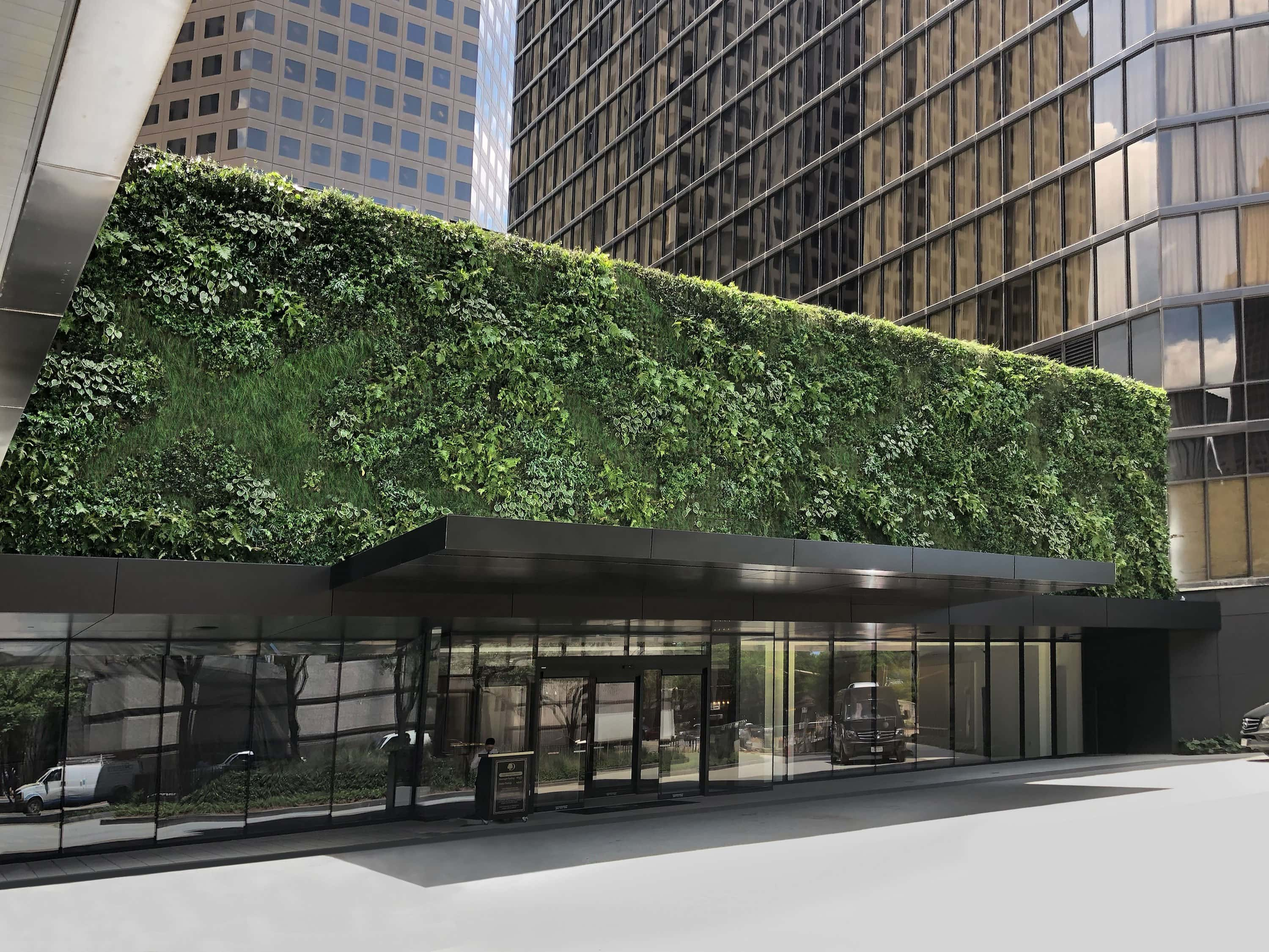 Green Living Wall by Sage + Natura