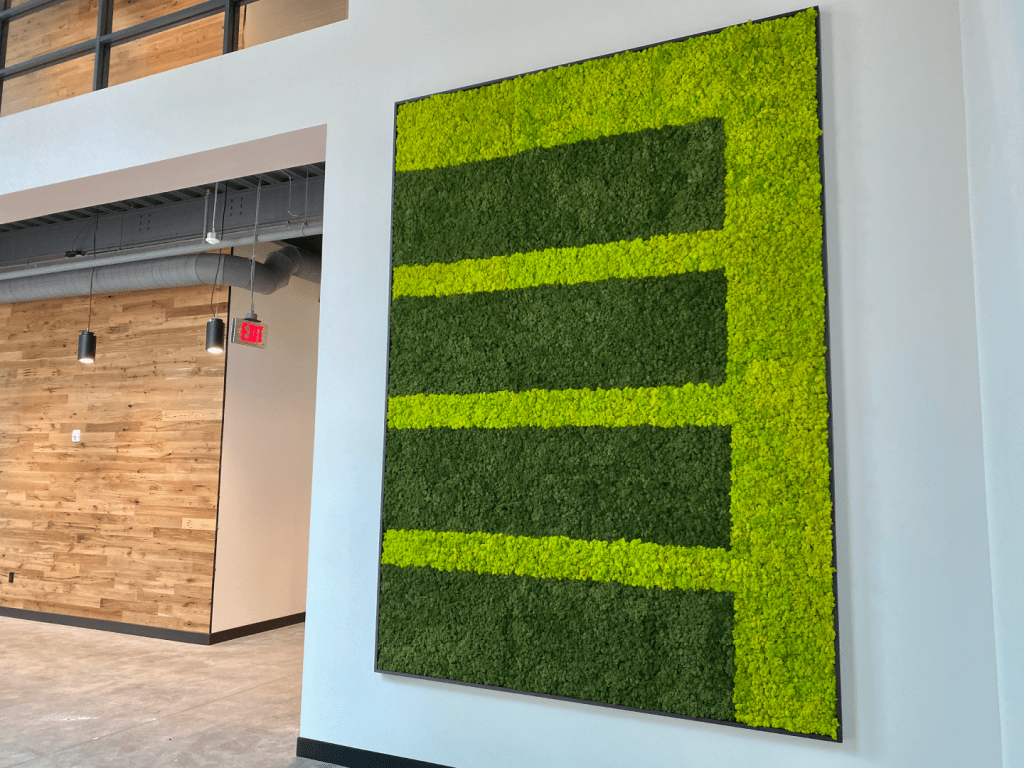 Custom Moss Wall Design by NaturaHQ