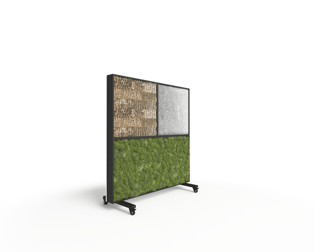4' Movable Moss Divider