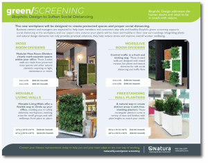Download Green Screening Social Distancing Brochure