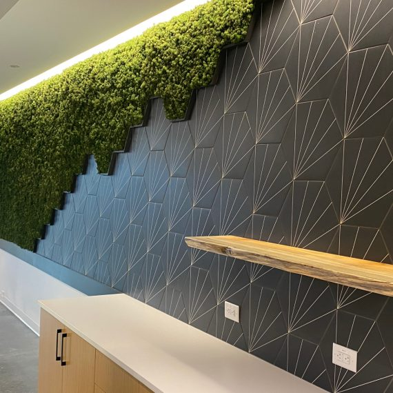 Complex Moss Wall Design by NaturaHQ