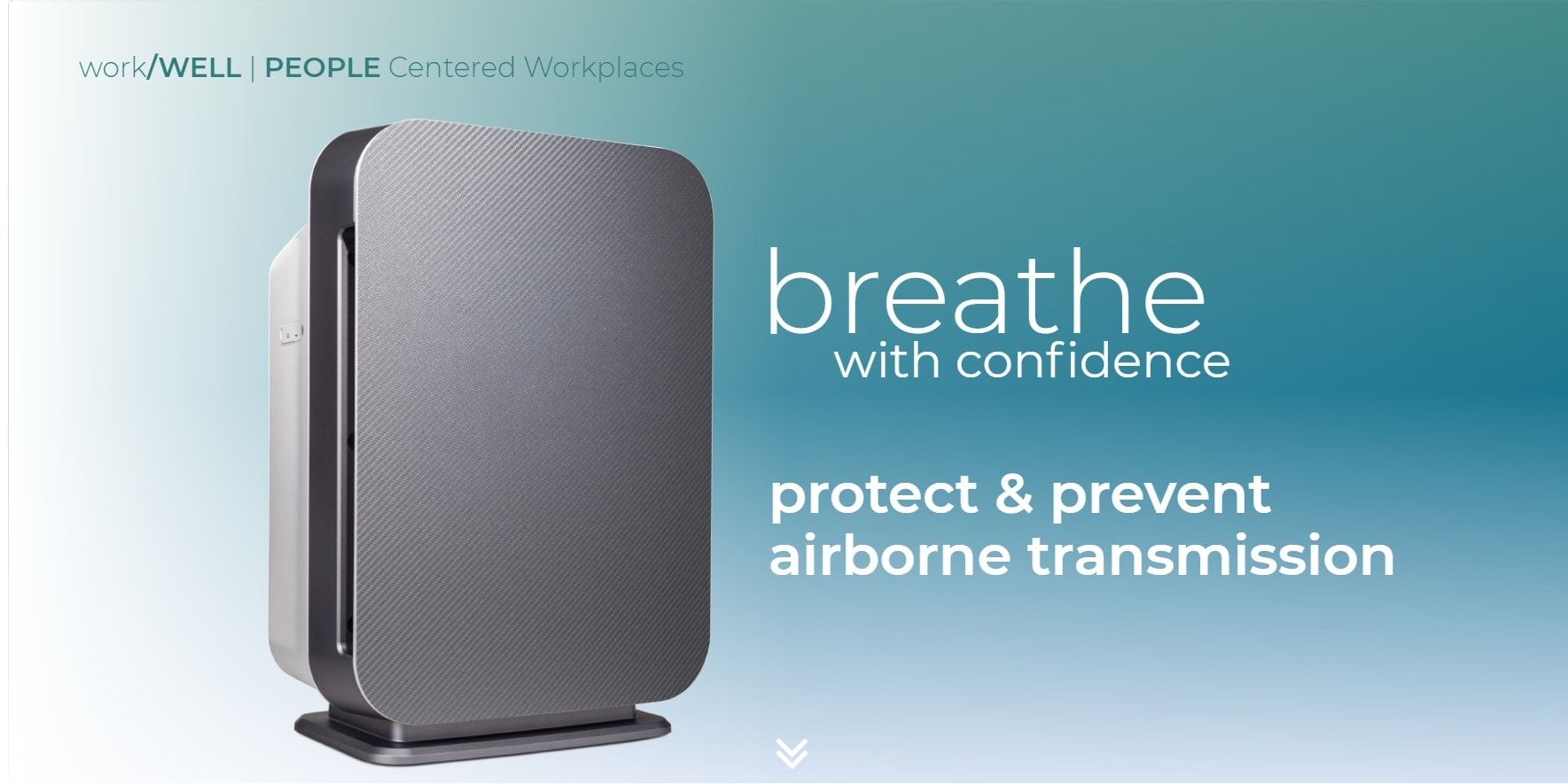 breathe pure air with confidence